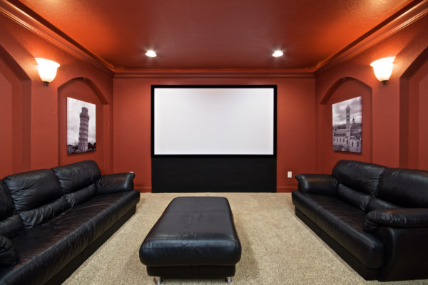 Theater Room Screen