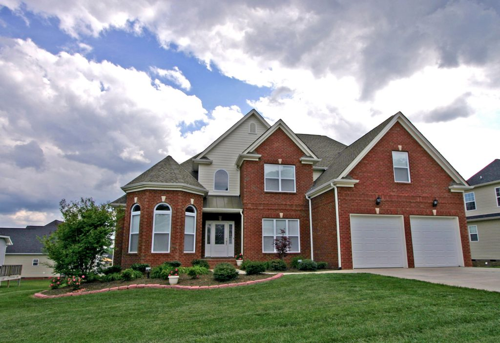 Chattanooga custom home with turret detail cuthbertson homes for Custom home builders chattanooga tn